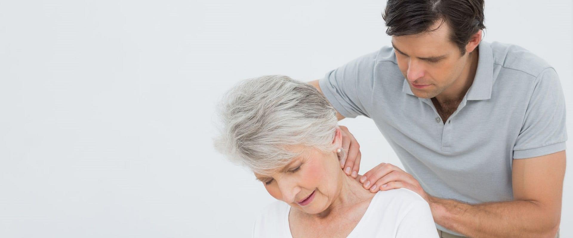 Neck pain; Plympton Osteopathic Clinic